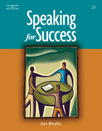 9780324672497: Bundle: Speaking for Success, 2nd + Century 21 Accounting: Multicolumn Journal, 8th