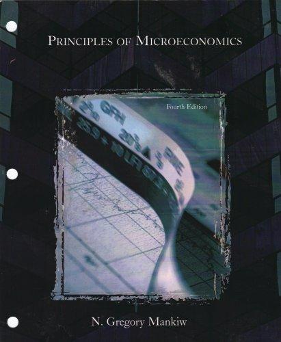 9780324678987: Principles of Microeconomics, 4th Edition, [LOOSELEAF]
