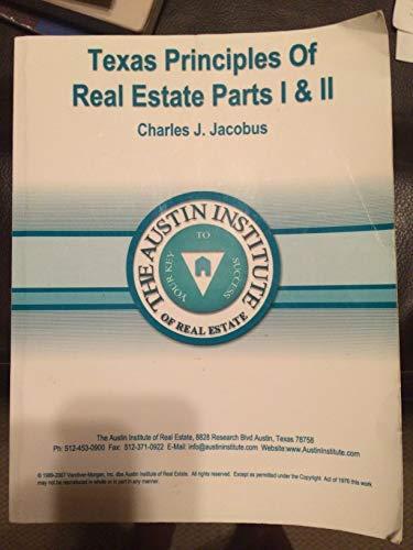 9780324679687: Texas Principles of Real Estate Parts I & II