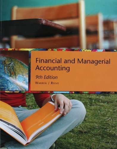 9780324680324: Financial and Managerial Accounting