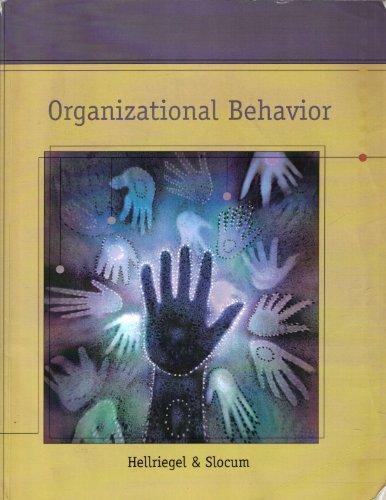 9780324686487: Organizational Behavior