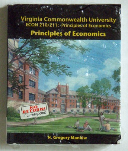 9780324687163: Principles of Economics with Aplia Package (Custom for VCU Econ 210/211)