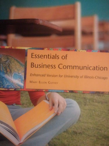 9780324689686: Essentials of Business Communication (Enhanced Version for University of Illinois Chicago)