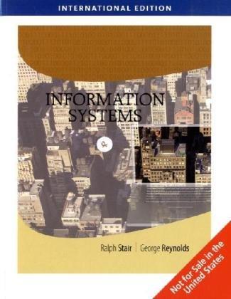 9780324781663: Information Systems, International Edition