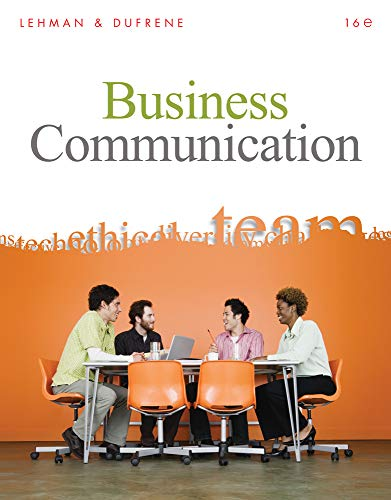 9780324782172: Business Communication, 16th Edition