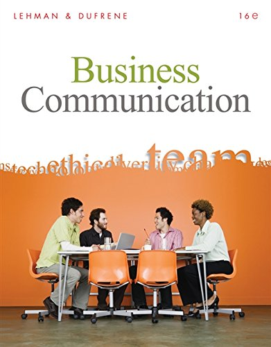 9780324782189: Business Communication (Book Only)