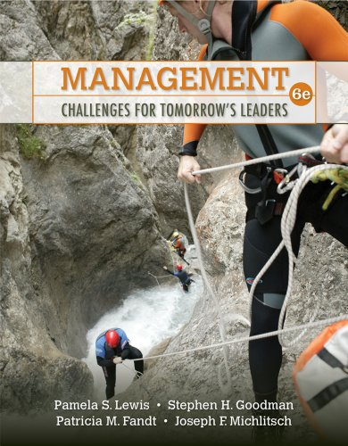 9780324783124: Management: Challenges for Tomorrow's Leaders