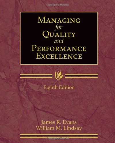9780324783209: Managing for Quality and Performance Excellence (with Student Web)
