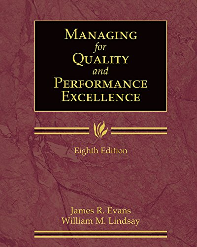 9780324783223: Managing for Quality and Performance Excellence (Book Only)
