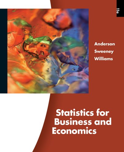 Statistics for Business and Economics: Williams, Thomas A.,