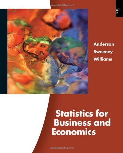 9780324783254: Statistics for Business and Economics (Book Only)