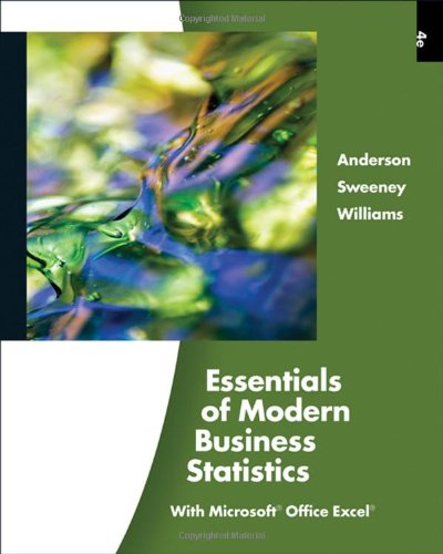 9780324783513: Essentials of Modern Business Statistics (with Online Material Printed Access Card) (Available Titles Aplia)