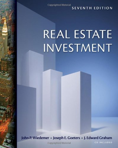9780324784688: Real Estate Investment