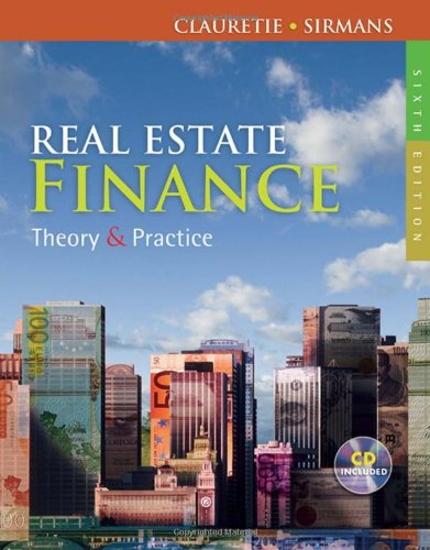 9780324784756: Real Estate Finance: Theory & Practice
