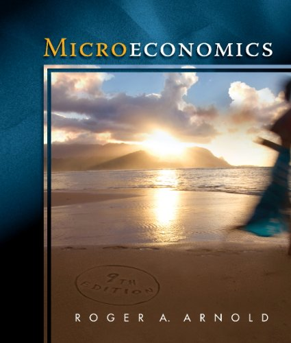 9780324785524: Study Guide for Arnold's Microeconomics