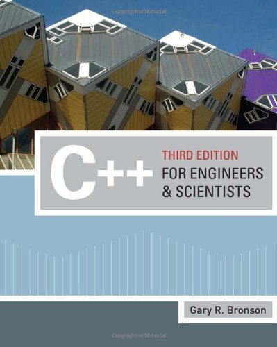 9780324786439: C++ for Engineers and Scientists (Introduction to Programming)