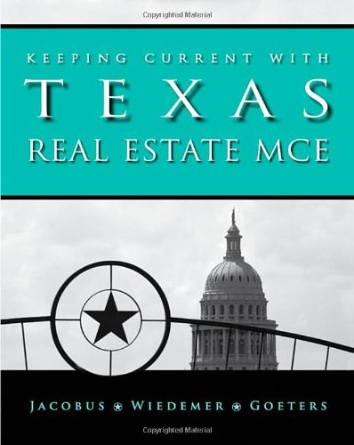 9780324787511: Keeping Current with Texas Real Estate MCE
