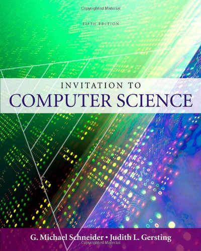 9780324788594: An Invitation to Computer Science, 5th Edition