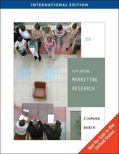 Exploring Marketing Research, International Edition (with Qualtrics Card) (Tenth Edition): Barry ...