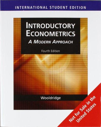 9780324788907: Introductory Econometrics