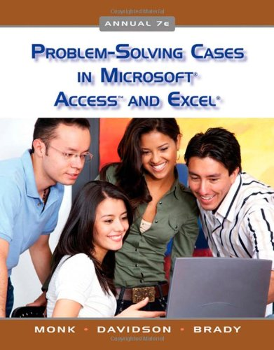 9780324789102: Problem Solving Cases in Microsoft Access and Excel