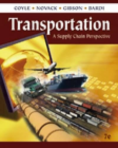9780324789195: Transportation: A Supply Chain Perspective