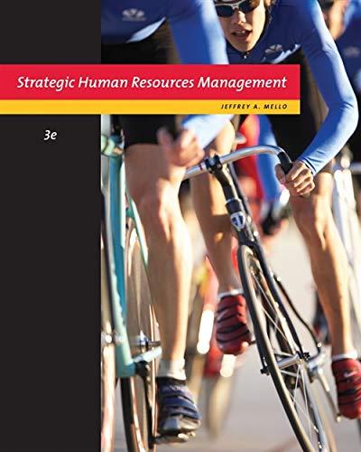 9780324789621: Strategic Human Resource Management