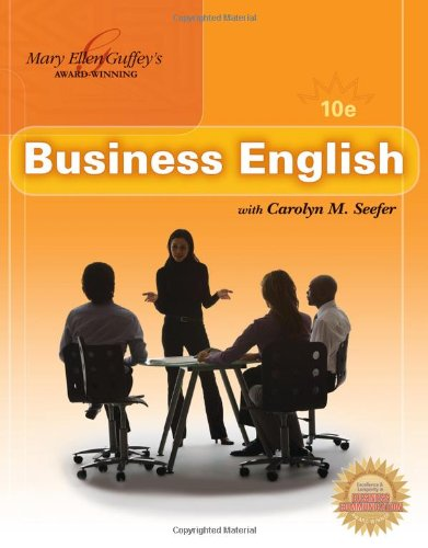 9780324789744: Business English (with MEGUFFEY.COM Printed Access Card)