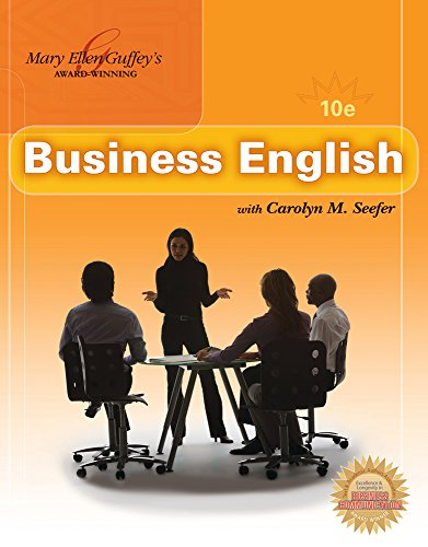 9780324789751: Business English (Book Only)