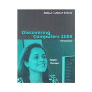9780324807639: Discovering Computers 2009: Introductory (Shelly Cashman)