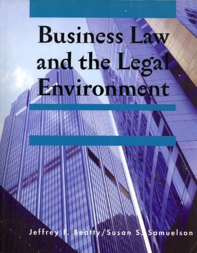 9780324812428: Business Law and the Legal Environment