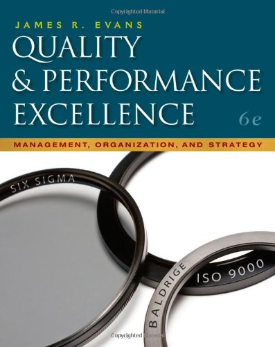 9780324827064: Quality & Performance Excellence