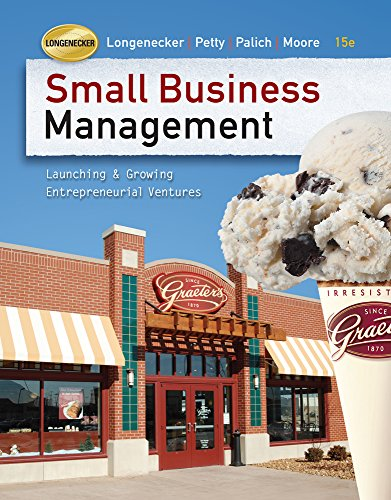 9780324827842: Small Business Management (Book Only)