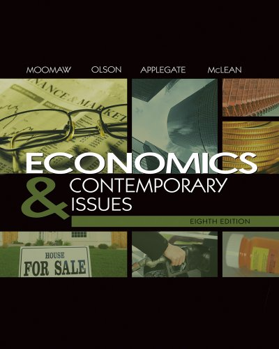 9780324827897: Economics and Contemporary Issues (with InfoTrac College Edition 2-Semester and Economic Applications Printed Access Card)