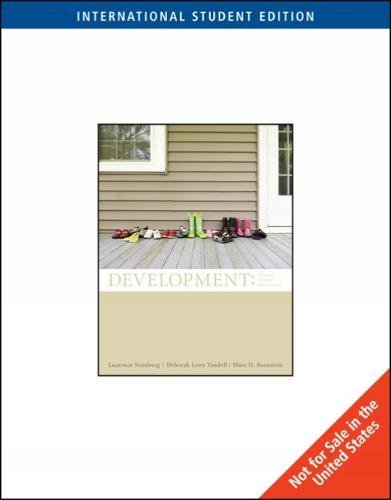 9780324829600: Development: Infancy Through Adolescence, International Edition