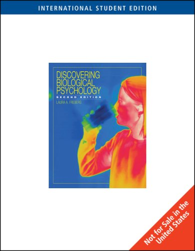 9780324829617: Discovering Biological Psychology, Second Edition, INTERNATIONAL EDITION