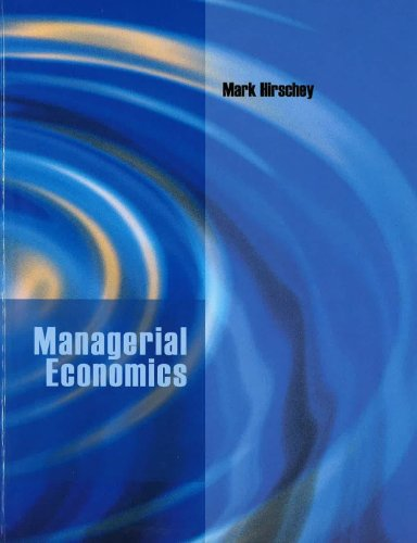 9780324830866: Managerial Economics (Custom edition)
