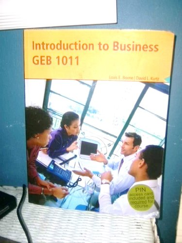 9780324832440: INTRODUCTION TO BUSINESS GEB 1011 (SOFTBACK) 2008