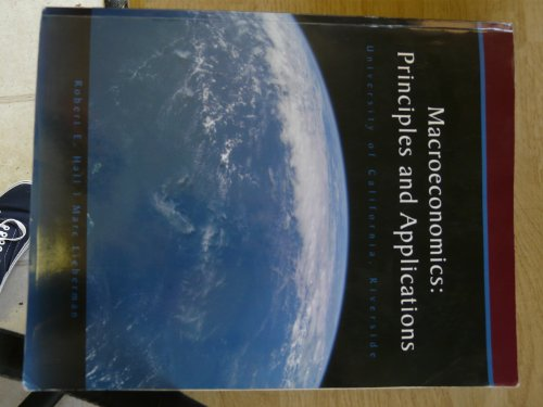 9780324832983: Macroeconomics: Principles and Applications