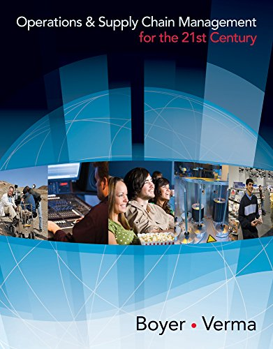 9780324834857: Operations & Supply Chain Management for the 21st Century