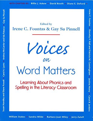 Voices on Word Matters: Learning About Phonics: Fountas, Irene C.;