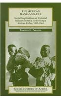9780325001401: The African Rank-and-File (Social History of Africa)