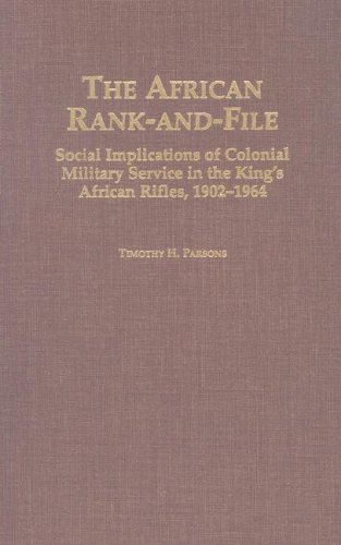 9780325001418: The African Rank-and-File (Social History of Africa (Hardcover))