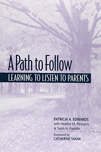 9780325001524: A Path to Follow: Learning to Listen to Parents