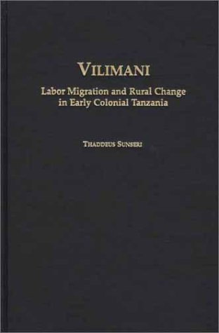 9780325001838: Vilimani (Social History of Africa)