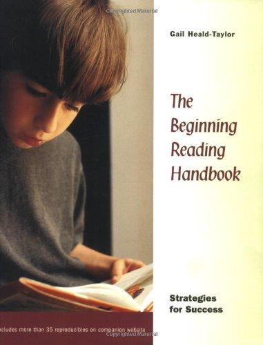 9780325003337: The Beginning Reading Handbook: Strategies for Success