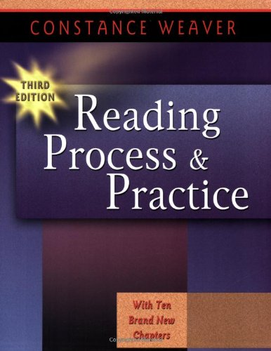 9780325003771: Reading Process and Practice, 3rd Ed.