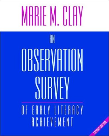 9780325004846: An Observation Survey: of Early Literacy Achievement