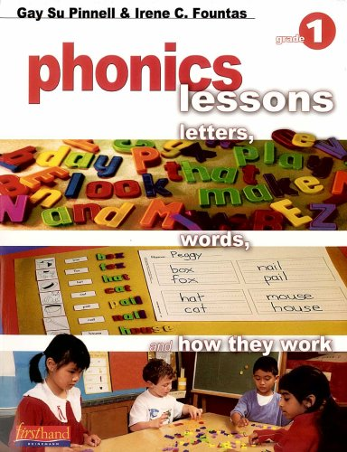 9780325005614: Phonics Lessons: Letters, Words, and How They Work (Grade 1)
