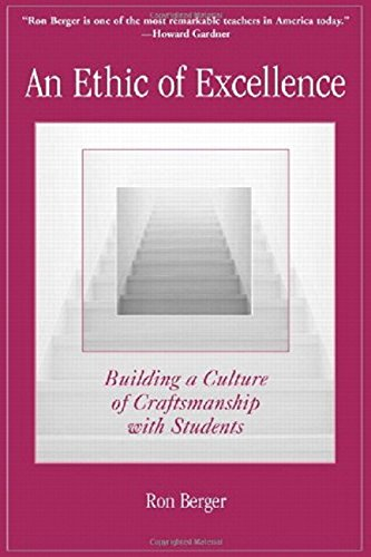 9780325005966: An Ethic of Excellence: Building a Culture of Craftsmanship with Students